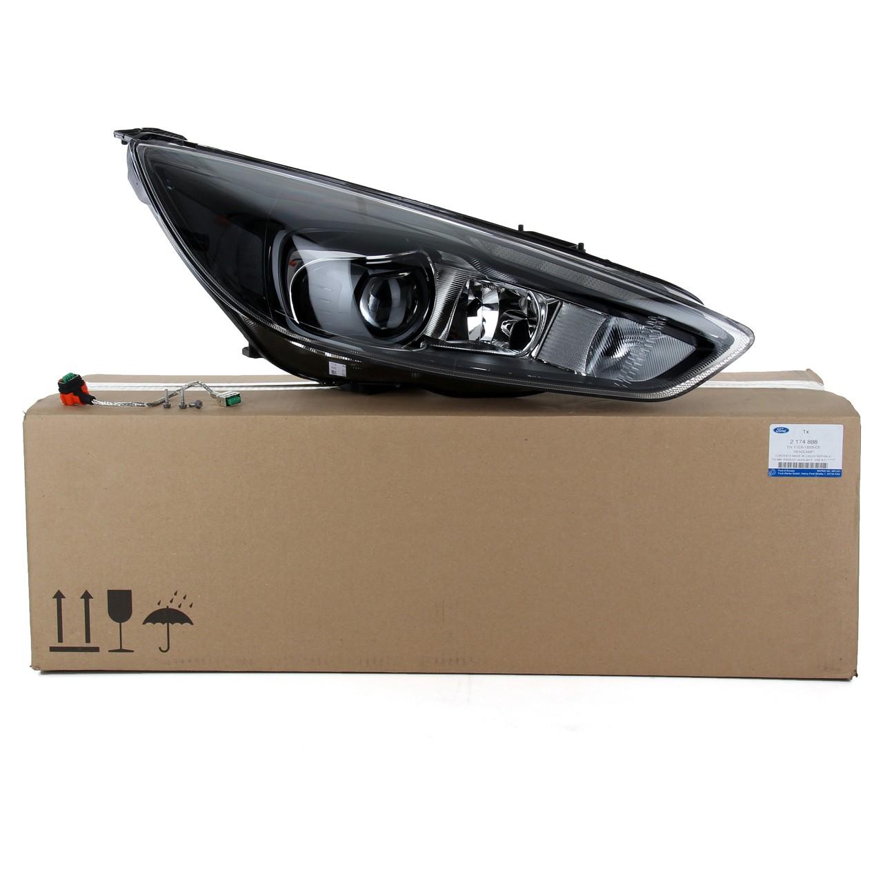 ORIGINAL Ford Scheinwerfer XENON für FOCUS III MK3 ab 10.2014 rechts 2210484