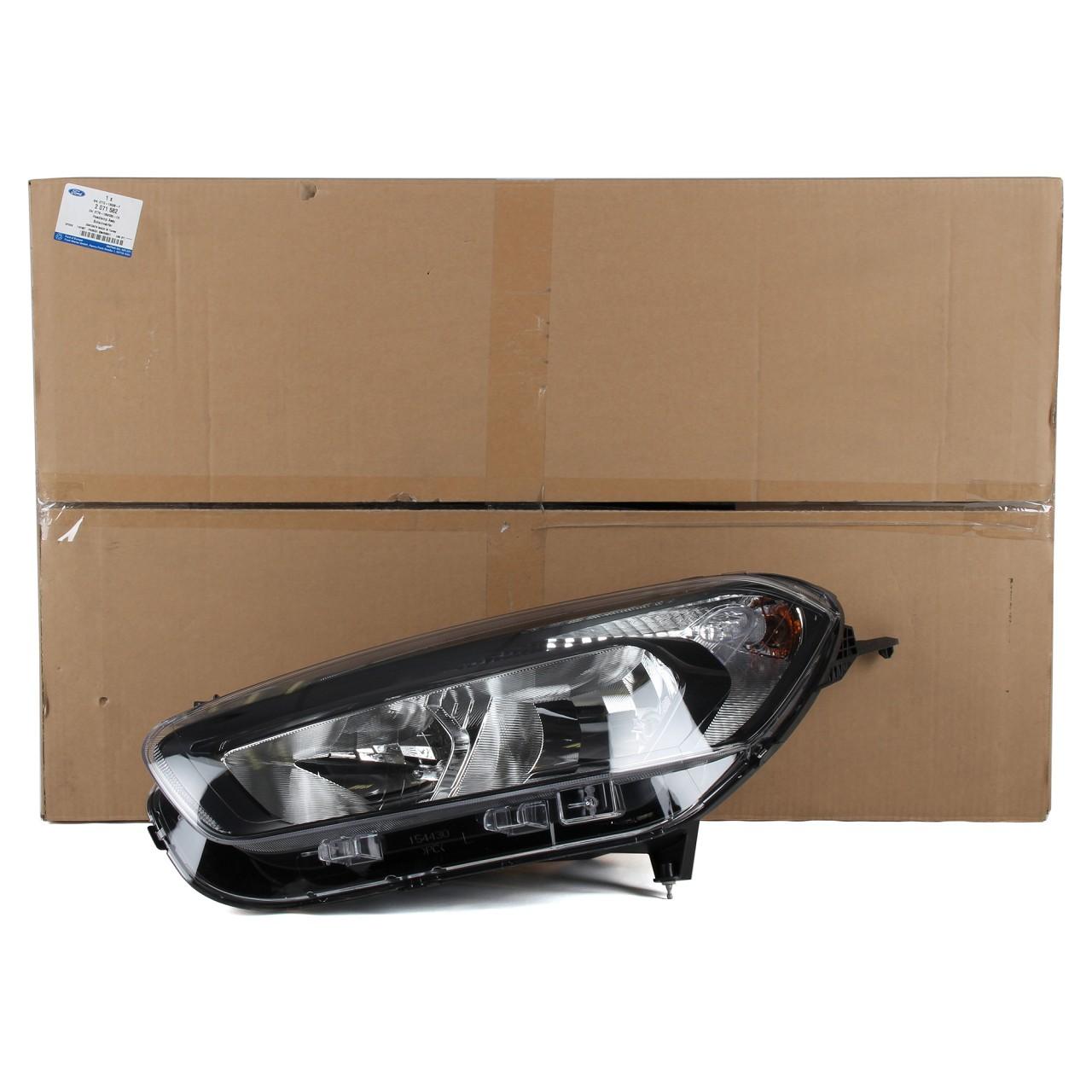 ORIGINAL Ford Scheinwerfer HALOGEN für TOURNEO / TRANSIT COURIER links 2269026