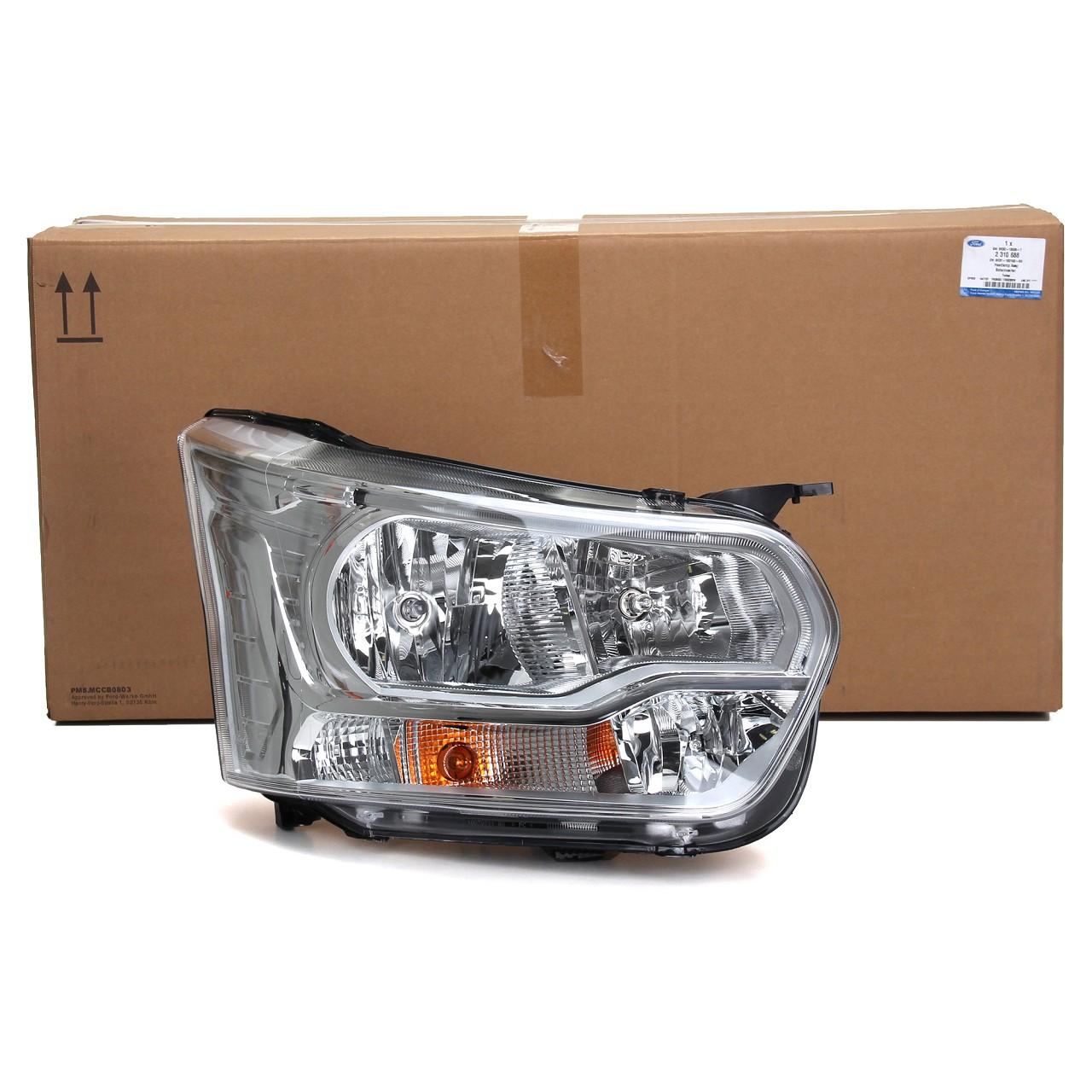 ORIGINAL Ford Scheinwerfer HALOGEN für TRANSIT ab 01.2014 rechts 1877019