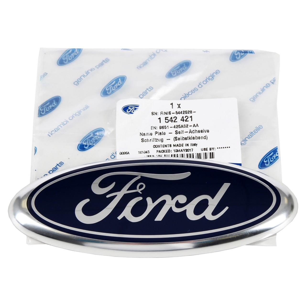 ORIGINAL Ford Emblem Schriftzug Zeichen Oval Kuga I hinten 1542421