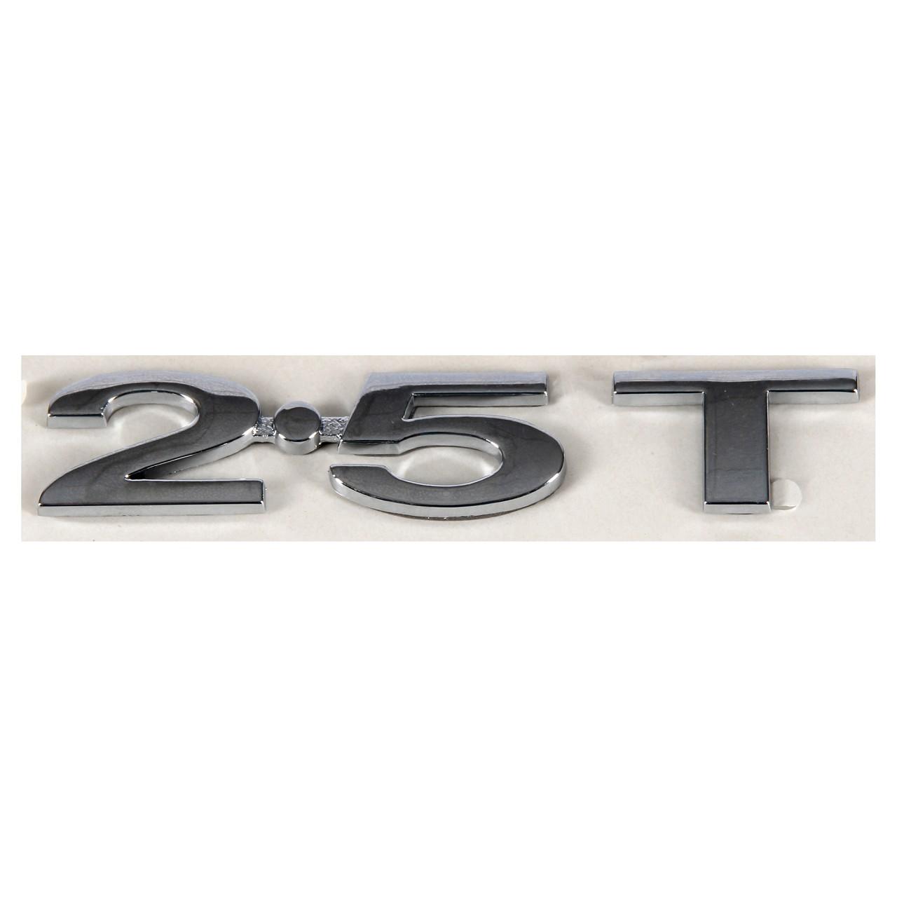 ORIGINAL Ford Emblem Schriftzug Aufkleber ''2.5T'' S-Max Galaxy seitlich 1688863