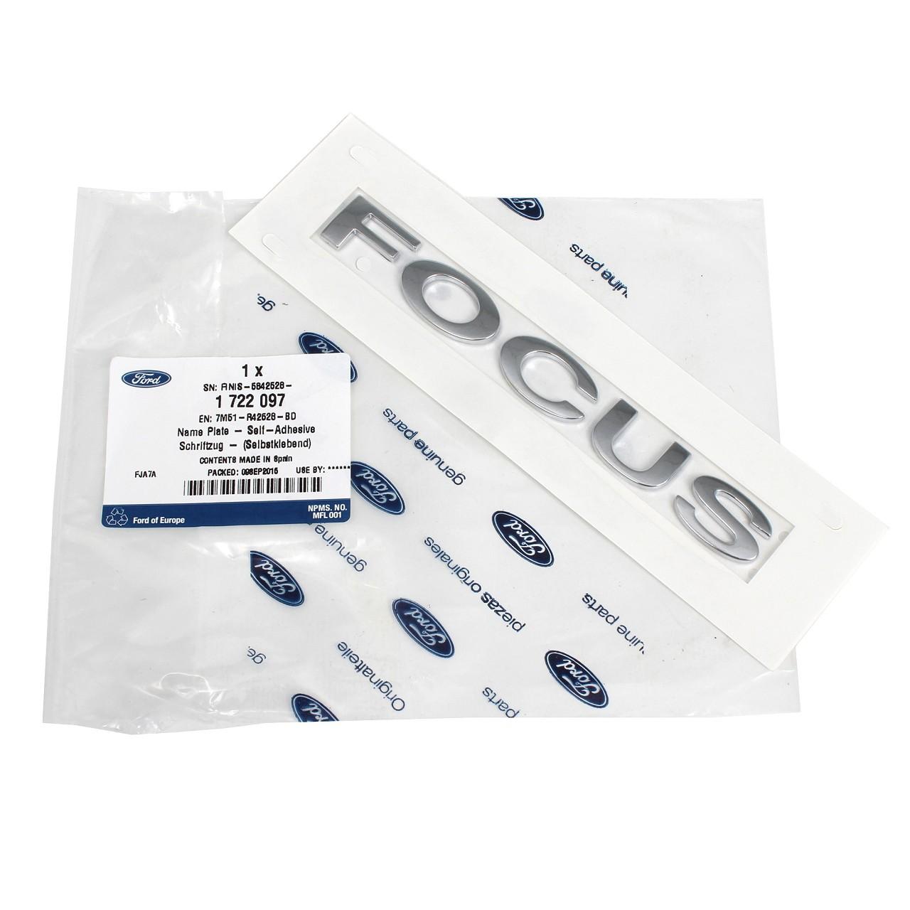 ORIGINAL Ford Emblem Logo Plakette Focus II bis 07.2011 1722097