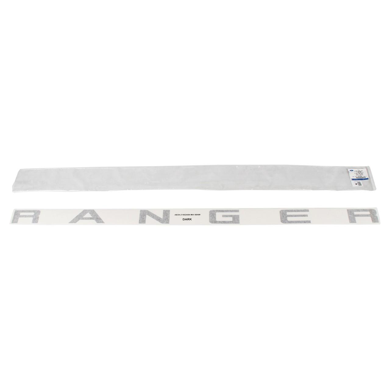 ORIGINAL Ford Emblem Schriftzug Aufkleber ''RANGER'' Ranger (TKE) hinten 1746082