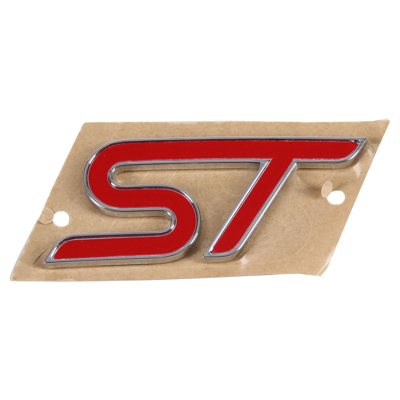 ORIGINAL Ford Emblem Zeichen ''ST'' Focus III Kühlergrill vorne 1748488