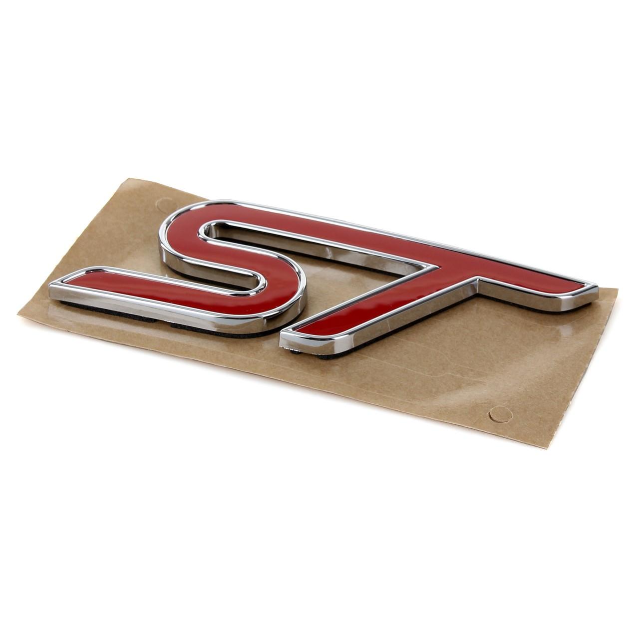 ORIGINAL Ford Emblem Schriftzug Aufkleber ''ST'' Fiesta VI hinten 1794608