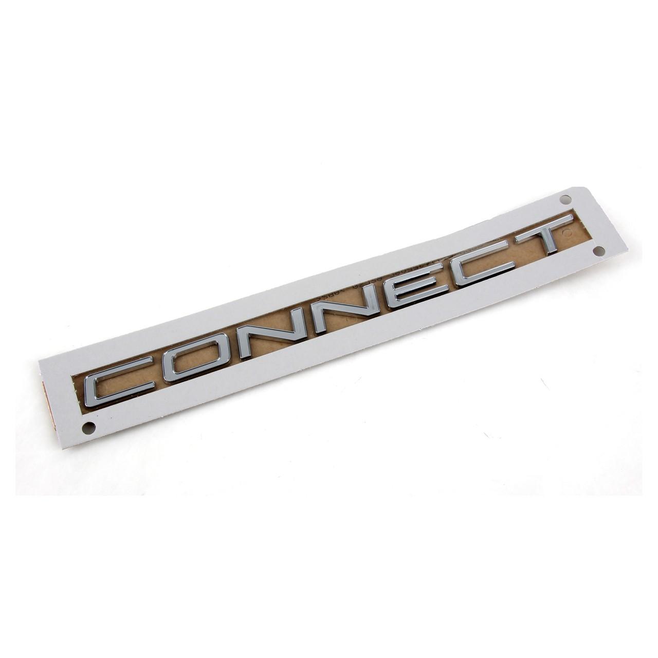 ORIGINAL Ford Emblem Schriftzug Aufkleber CONNECT Transit 2013- hinten 1877402