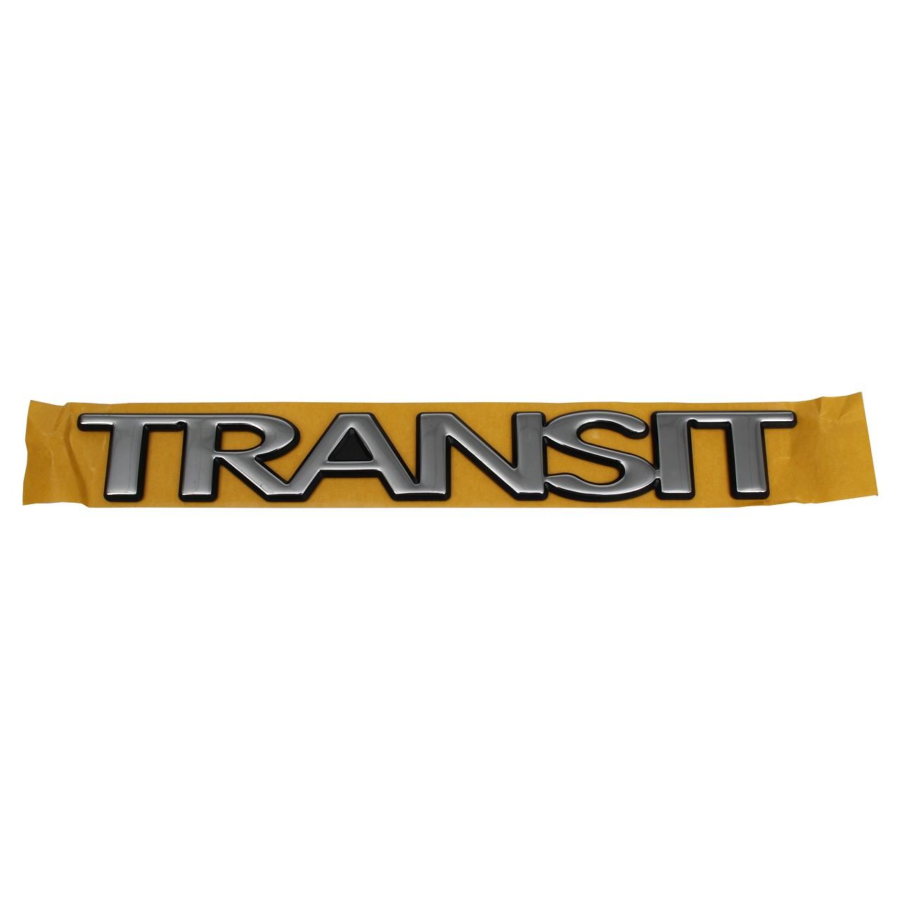 ORIGINAL Ford Emblem Schriftzug Aufkleber TRANSIT 02-13 hinten 5134996
