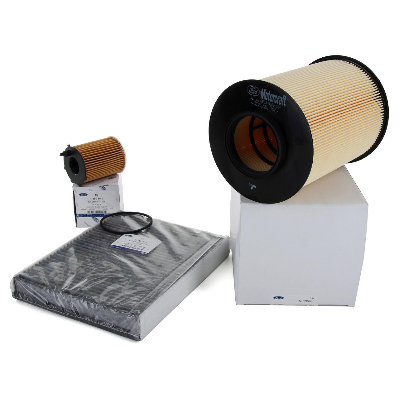 ORIGINAL Ford Inspektionskit Filterpaket GRAND / C-MAX II FOCUS III 1.5/1.6 TDCi