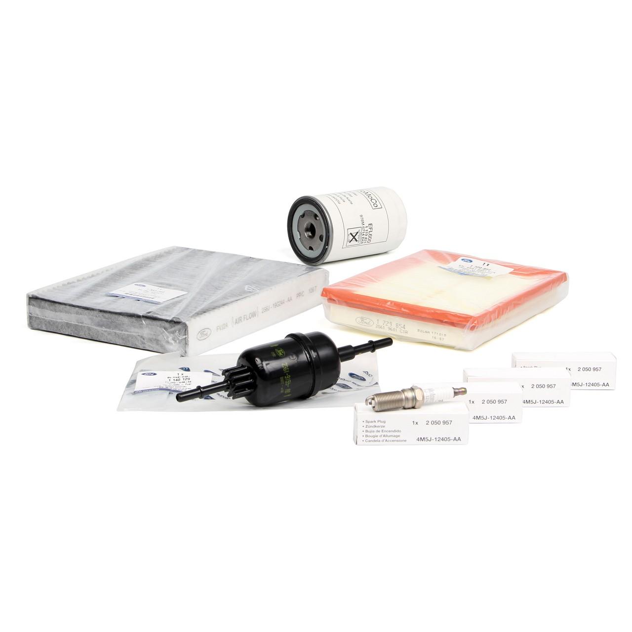 ORIGINAL Ford Inspektionskit Filterpaket Filterset Fiesta V MK5 Fusion 1.3 1.6