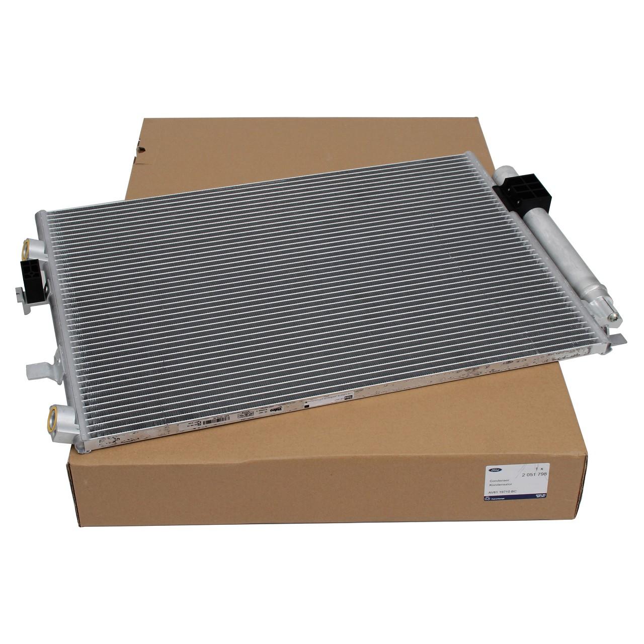 ORIGINAL Ford Kondensator Klimakondensator GRAND C-MAX C-MAX II 1.6TDCi 2051798