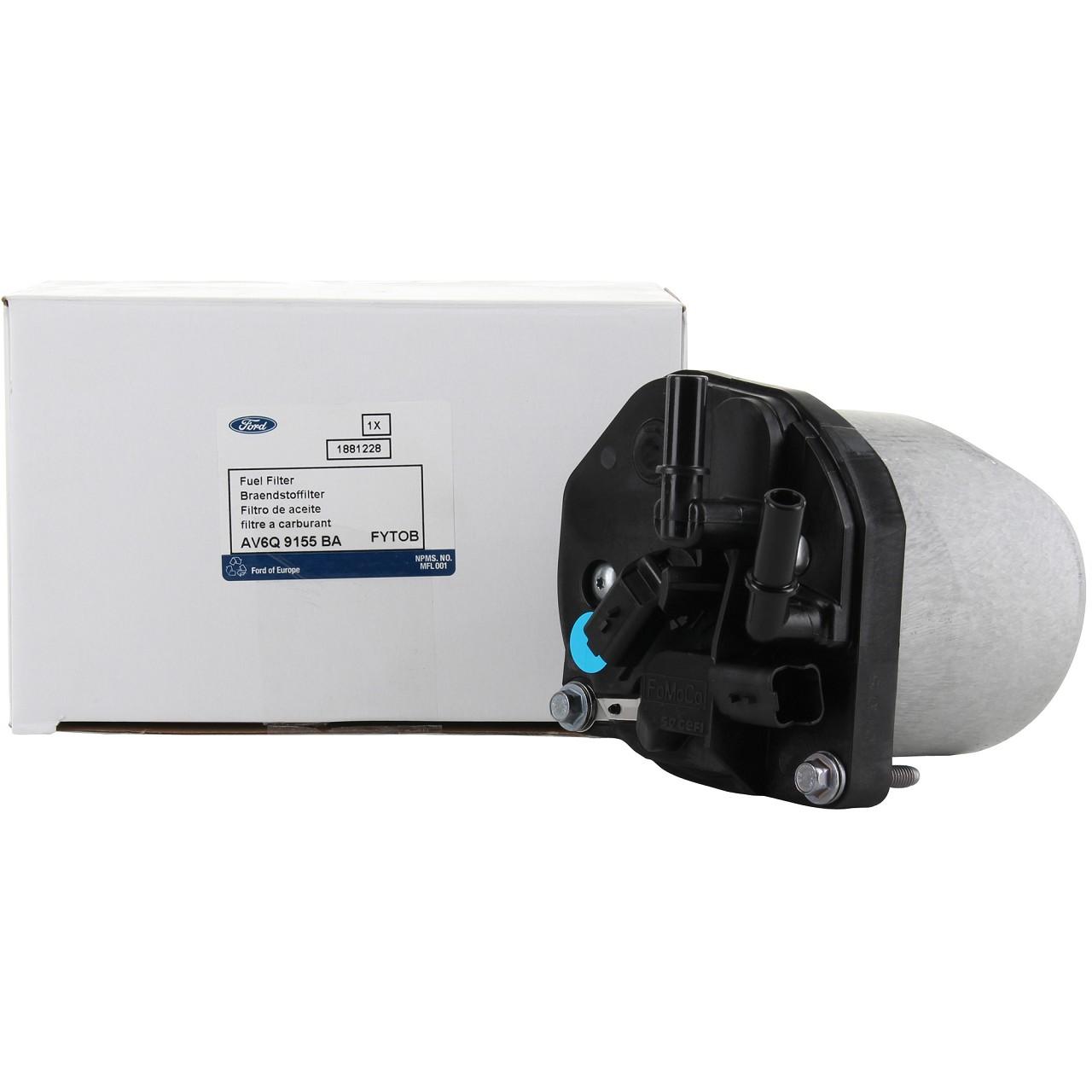 ORIGINAL Ford Kraftstofffilter Dieselfilter inkl. Gehäusedeckel 1.6TDCi 1881228