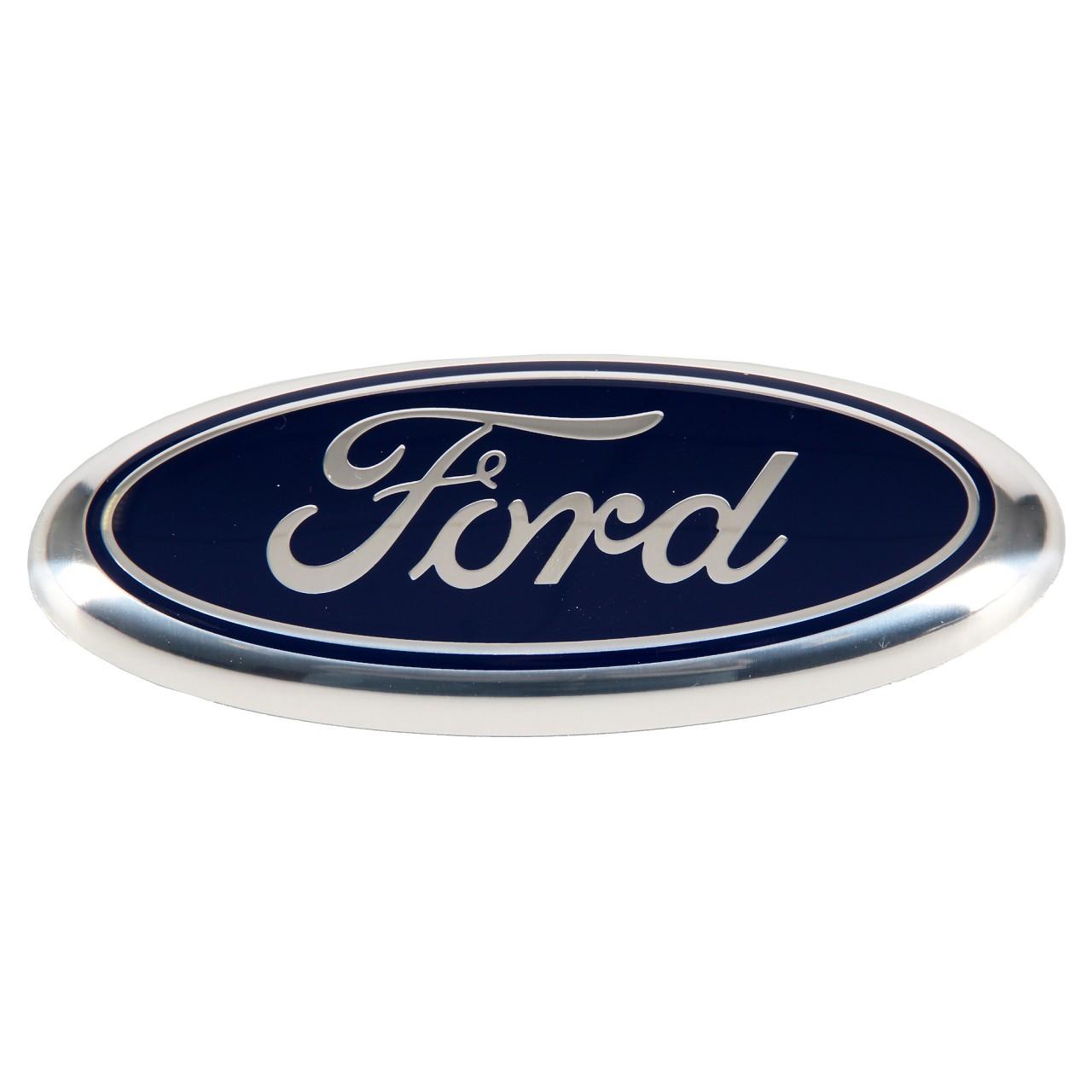 ORIGINAL Ford Emblem Schriftzug Plakette Logo COURIER FIESTA IV vorne 1078445