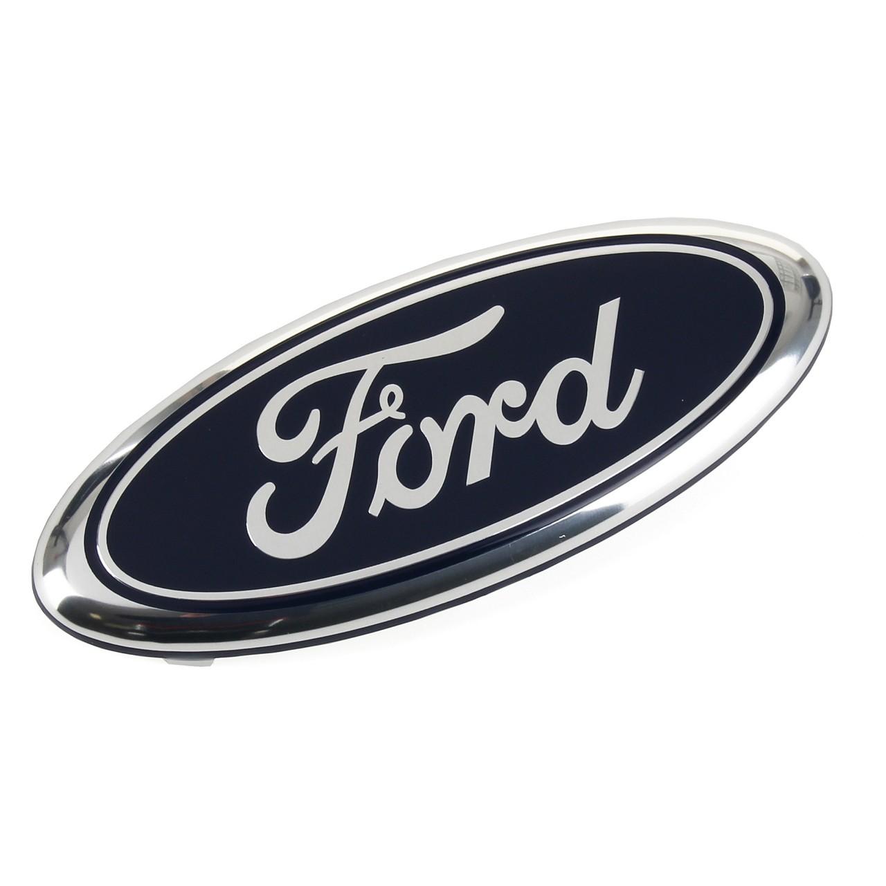 ORIGINAL Ford Emblem Schriftzug Aufkleber Zeichen FIESTA V FUSION vorne 1207555