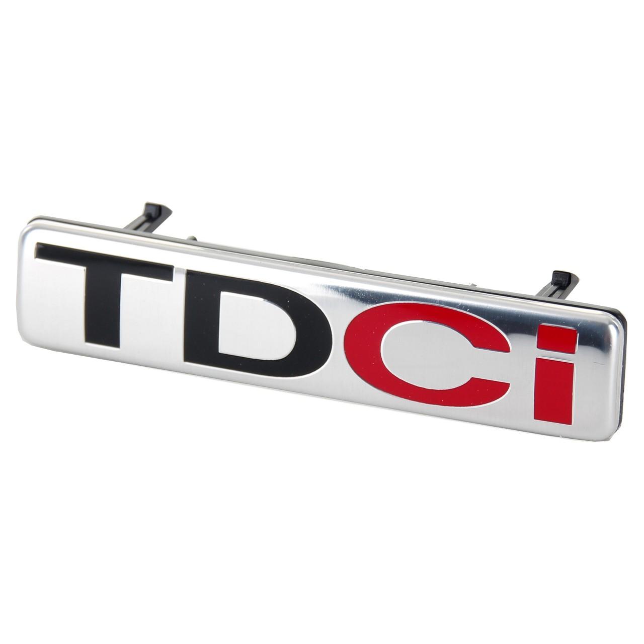 ORIGINAL Ford Emblem Schriftzug Zeichen Kühlergrill ''TDCi'' Transit 06-14 13...