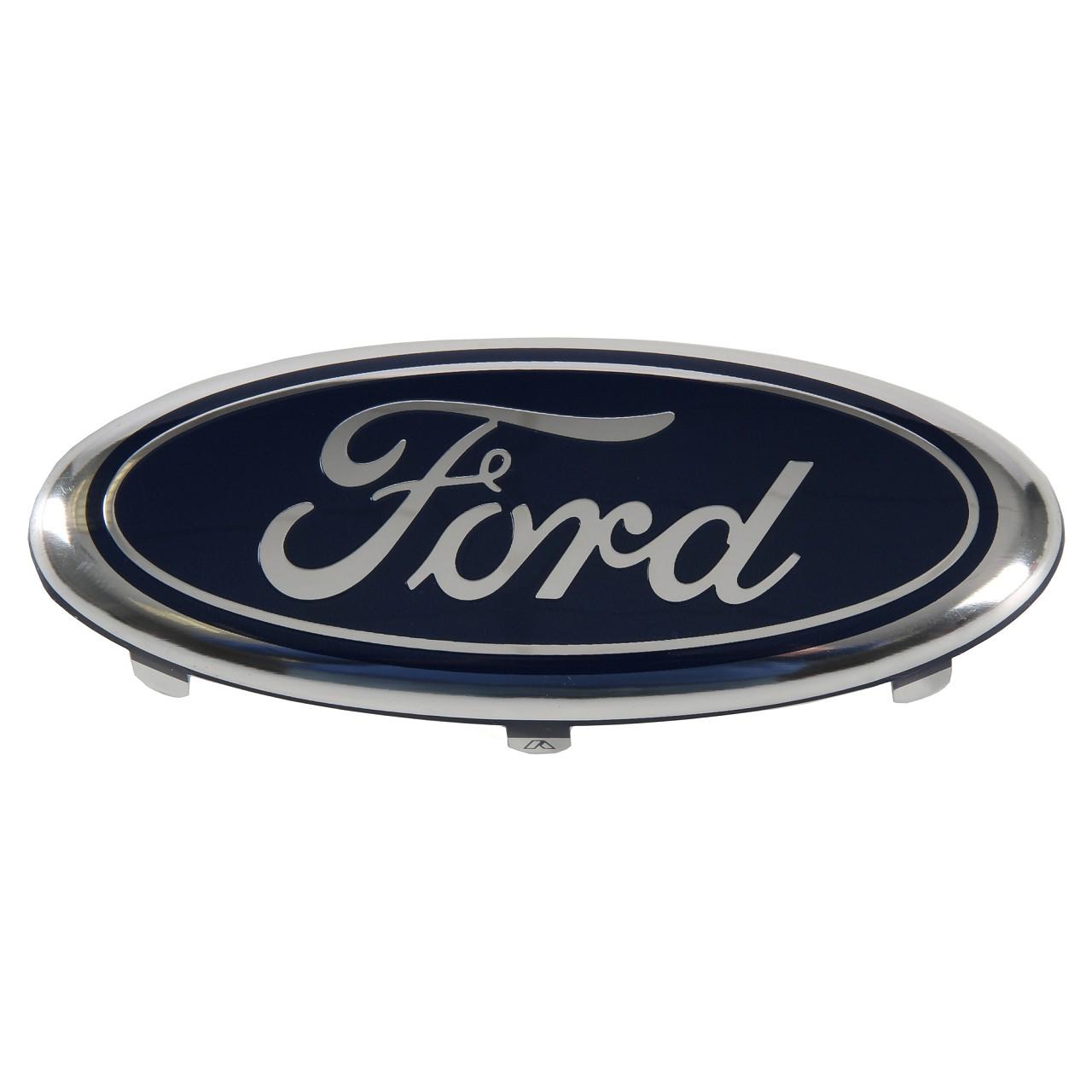 ORIGINAL Ford Emblem Logo Plakette Kühlergrill Fiesta 5 MK5 vorne 2108761