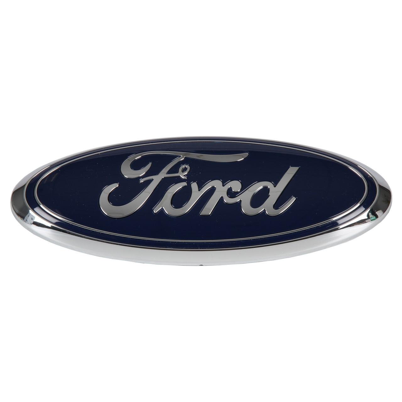 ORIGINAL Ford Emblem Schriftzug Zeichen Oval Transit 06-14 Kühlergrill 2112336