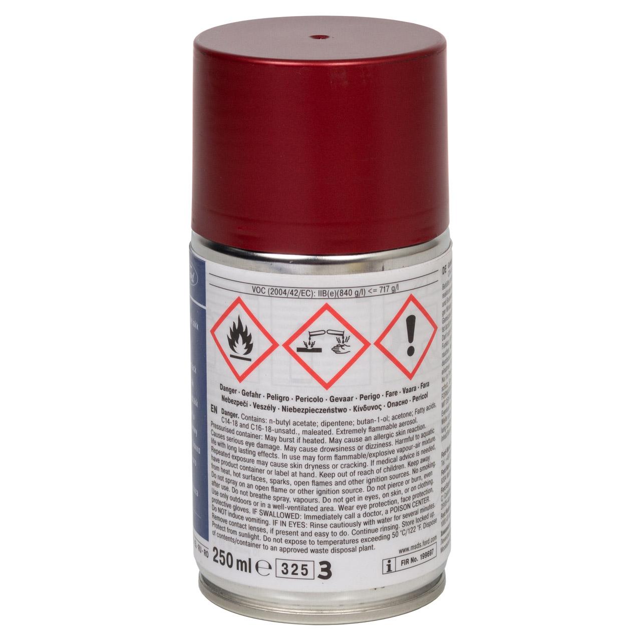 ORIGINAL Ford Lack Sprühdose Spraydose Dose CANDY RED ROT Metallic 250ml 2280726