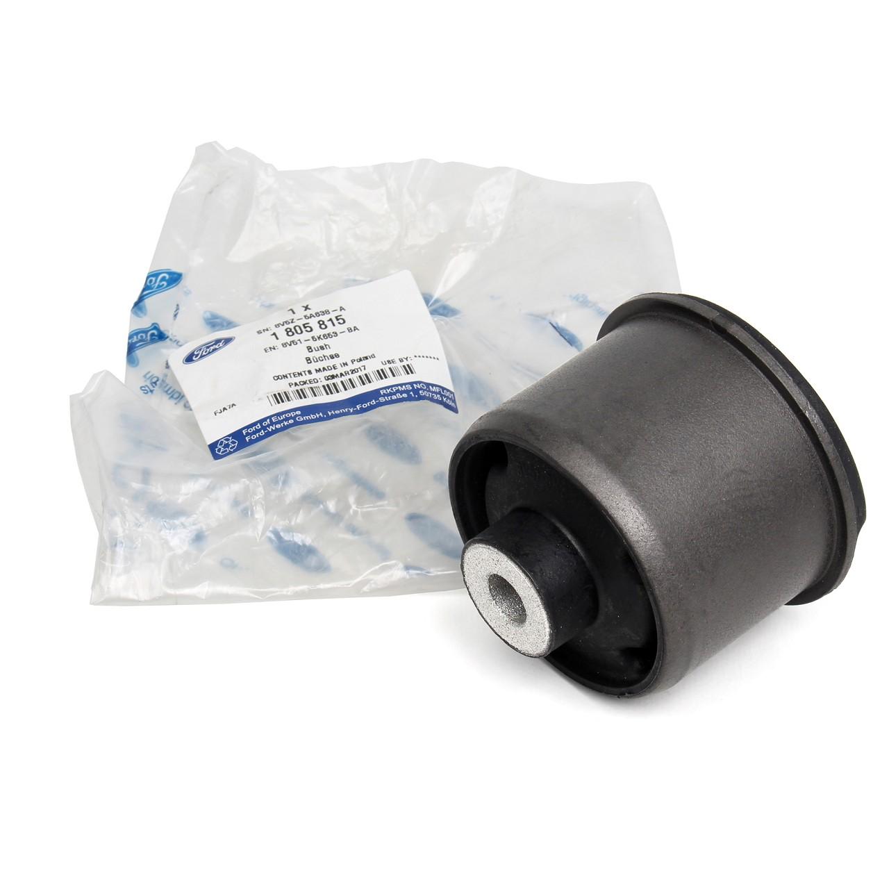 ORIGINAL Ford Gummilager Achskörperlager Buchse HINTEN 1805815 für FIESTA VI MK6