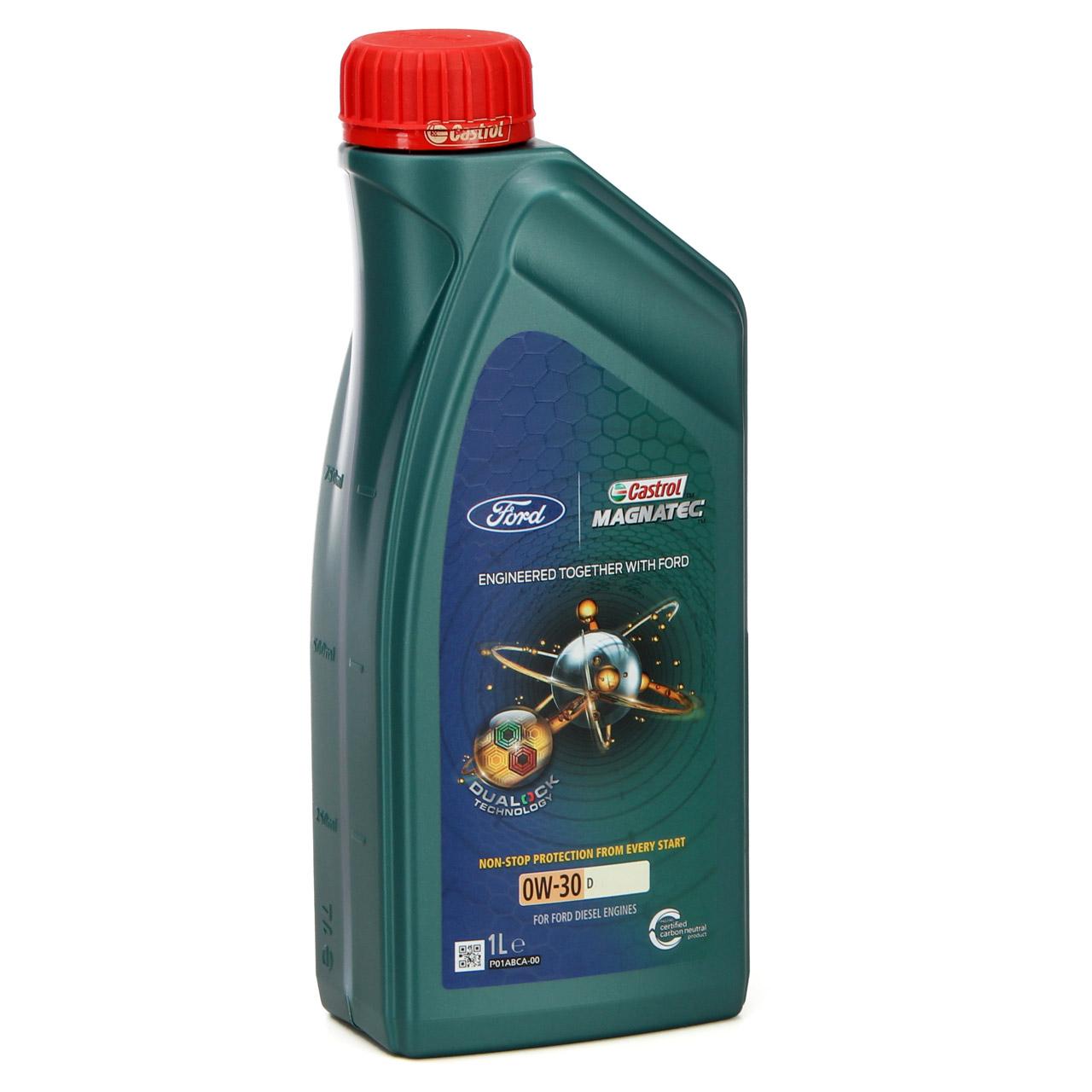 ORIGINAL Ford CASTROL Motoröl Öl D 0W30 Magnatec Professional 1 Liter 1 L 157C36