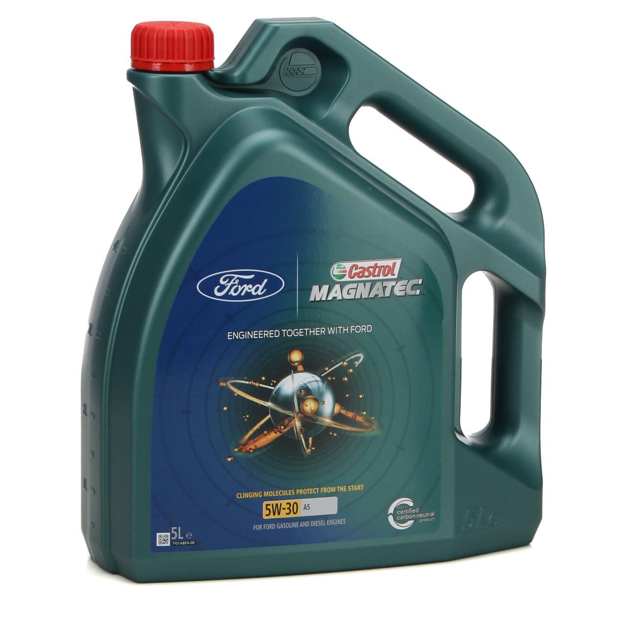 ORIGINAL Ford CASTROL Motoröl Öl MAGNATEC A5 5W30 5W-30 5L 5 Liter 15534F