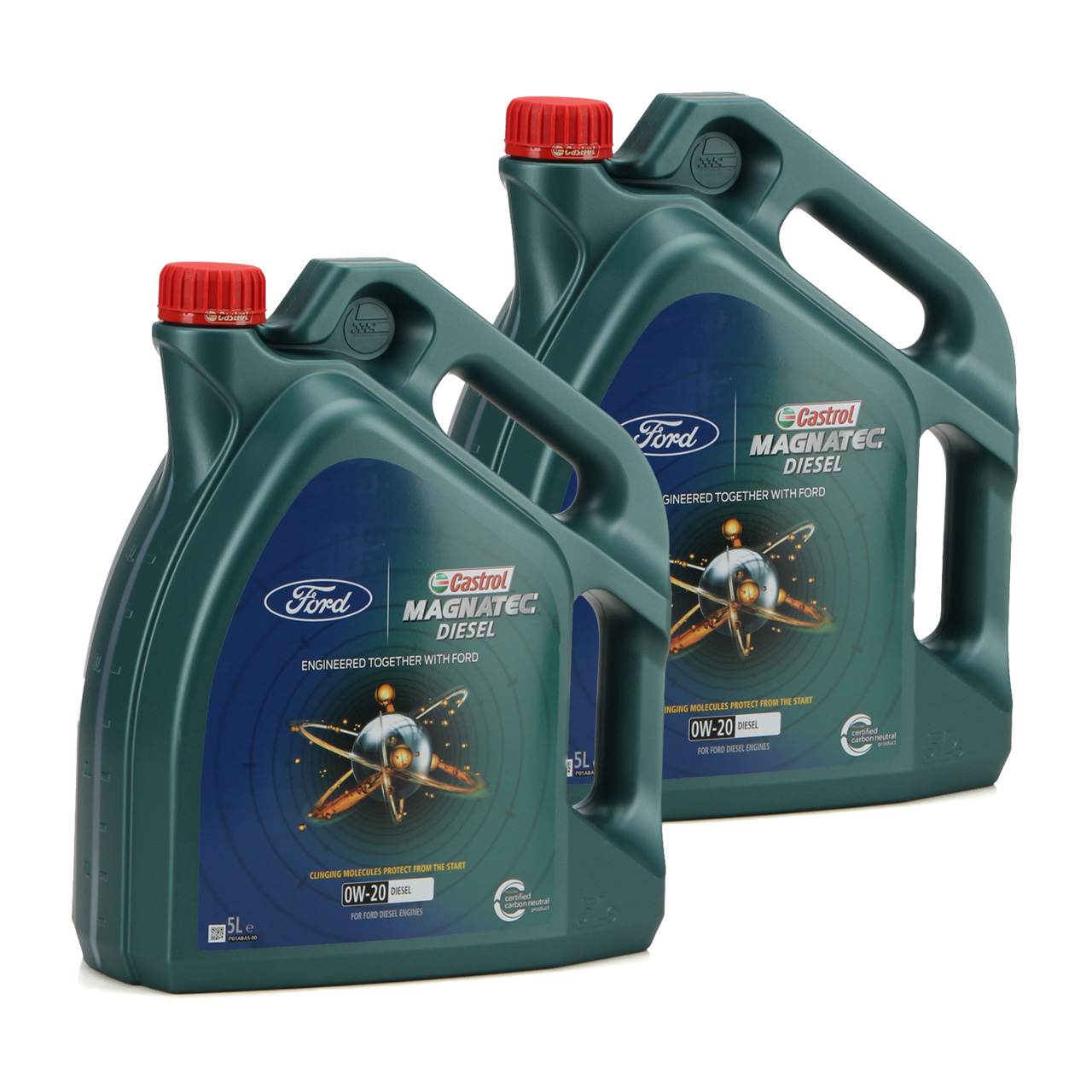 10L 10 Liter ORIGINAL Ford CASTROL Motoröl Öl MAGNATEC DIESEL 0W-20 0W20 15D5EC