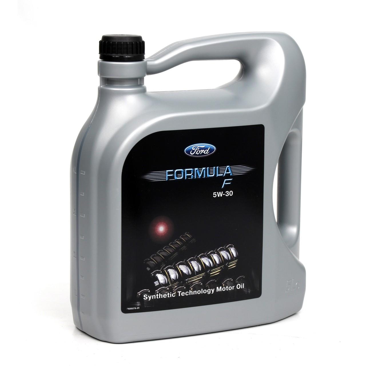 ORIGINAL Ford Motoröl Öl 5W30 5W-30 FORMULA F 155D3A WSS-M2C913-C 5 Liter 5L