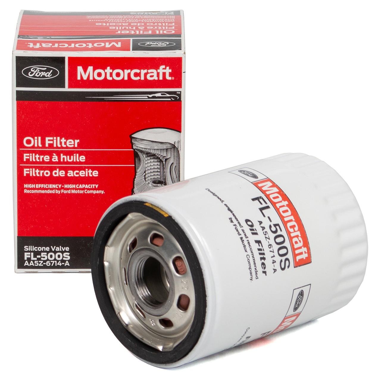 ORIGINAL Ford USA Motorcraft Ölfilter MUSTANG 5.0 V8 422 PS 2081941 FL-500S