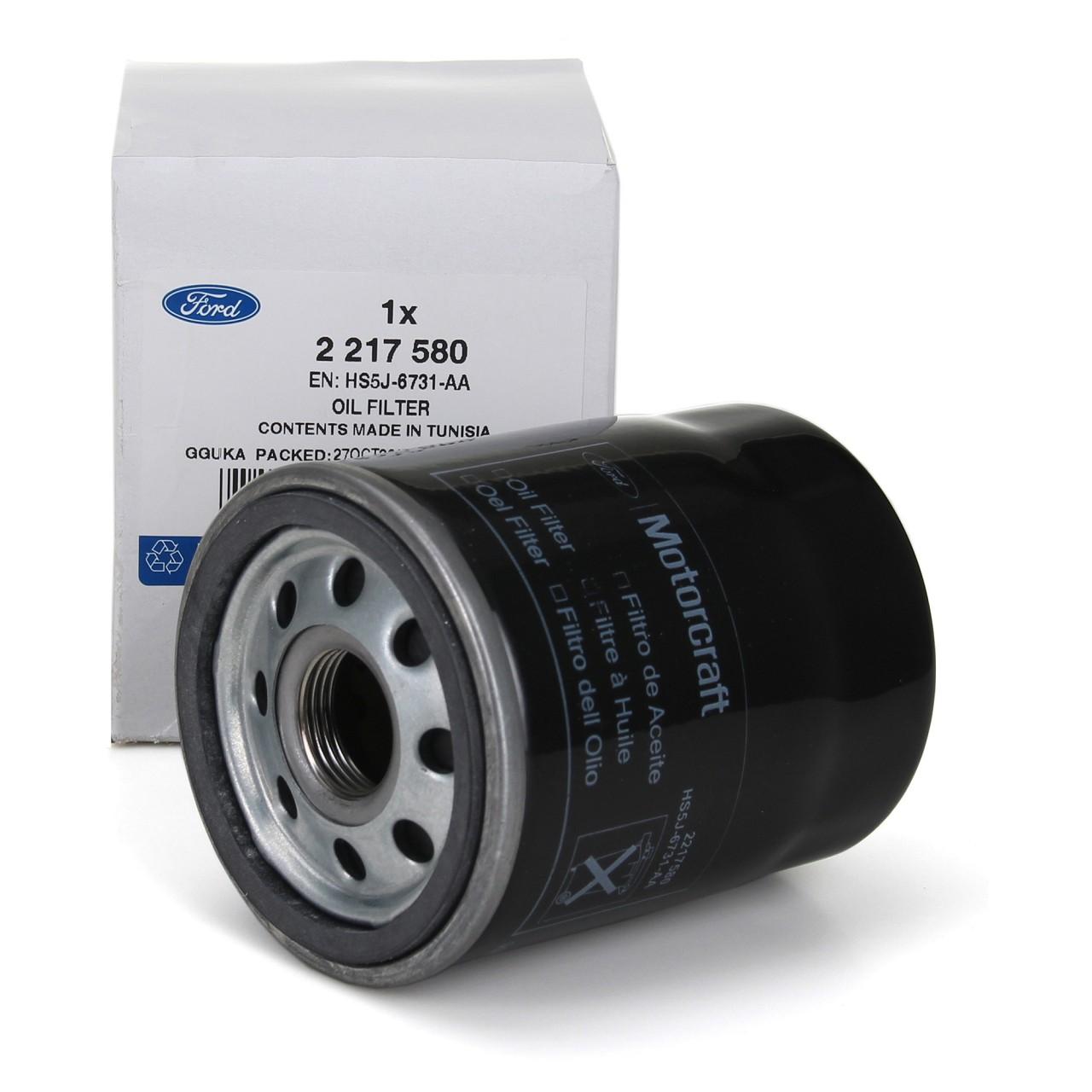 ORIGINAL Ford Ölfilter Motorölfilter Ka 1.2 69 PS Fiat 500 Panda Punto 1699522