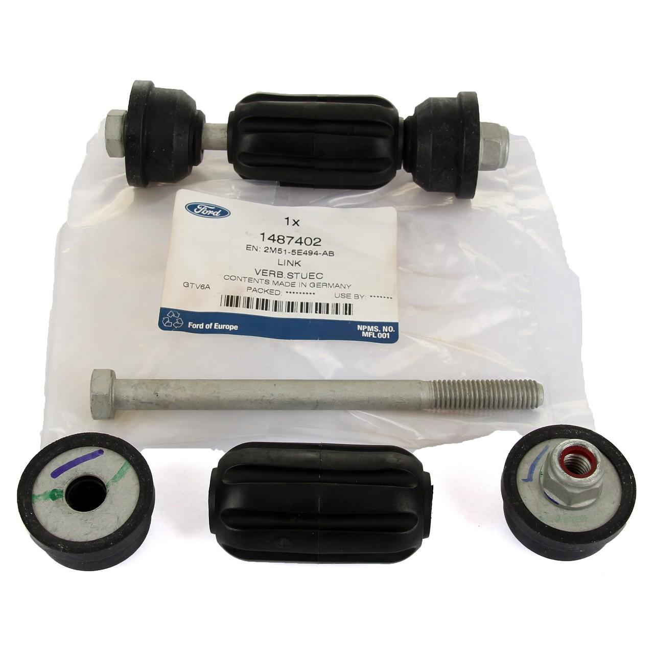 2x ORIGINAL Ford Gelenkstange Koppelstange Rep.-Satz FOCUS I MK1 hinten 1487402
