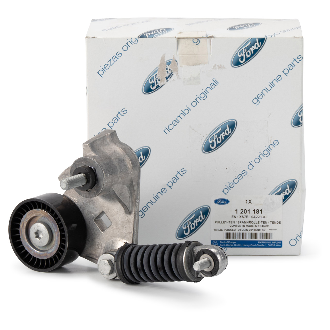 ORIGINAL Ford Riemenspanner Keilrippenriemen MONDEO III MK3 2.0TDCi 1201181