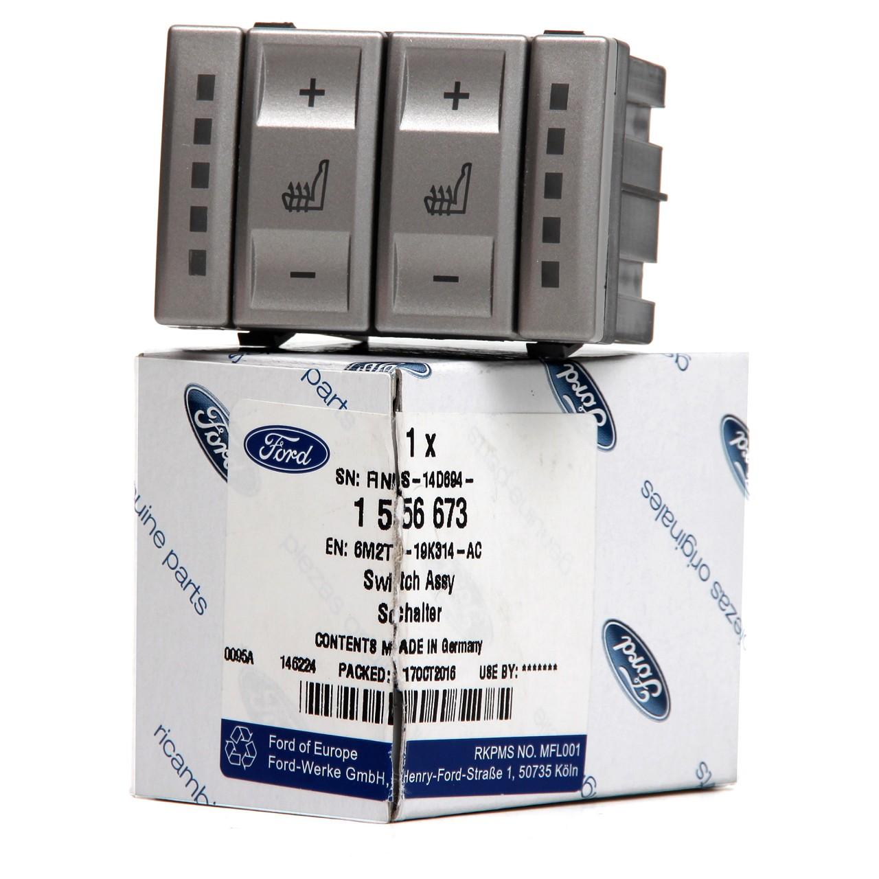 ORIGINAL Ford Schalter Sitzheizung 1556673 für Mondeo IV MK4 Galaxy S-Max WA6