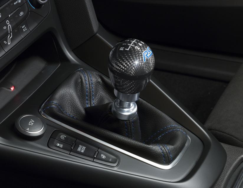 ORIGINAL Ford PERFORMANCE Schaltknauf RS Logo Blau FOCUS III MK3 2291196