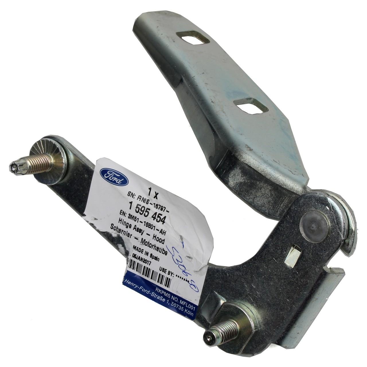 ORIGINAL Ford Scharnier Motorhaube FOCUS C-MAX / C-MAX (DM2) links 1595454