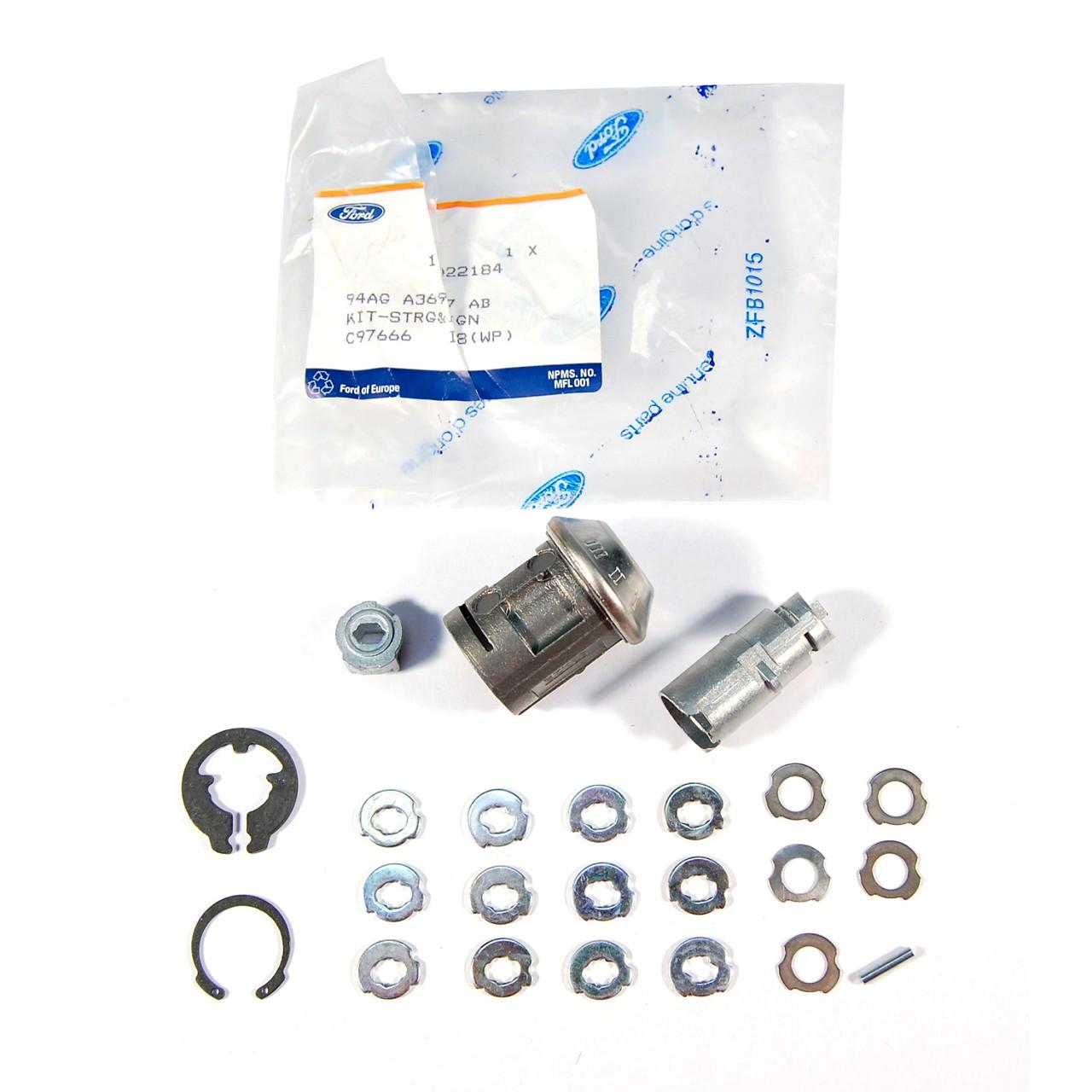 ORIGINAL Ford Schließzylinder Zündschloss 1022184