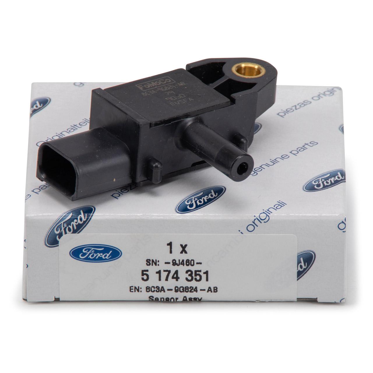 ORIGINAL Ford Differenzdrucksensor Abgasdrucksensor 1.5 / 1.6 TDCi 5174351