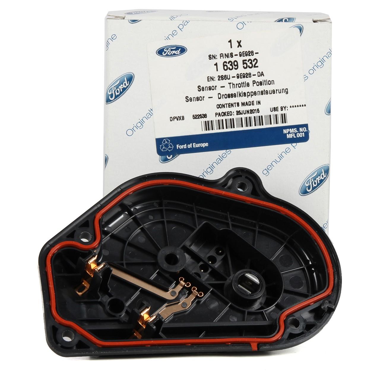 ORIGINAL Ford Drosselklappensensor 1639532 für C-MAX FIESTA 5 6 FOCUS 2 3