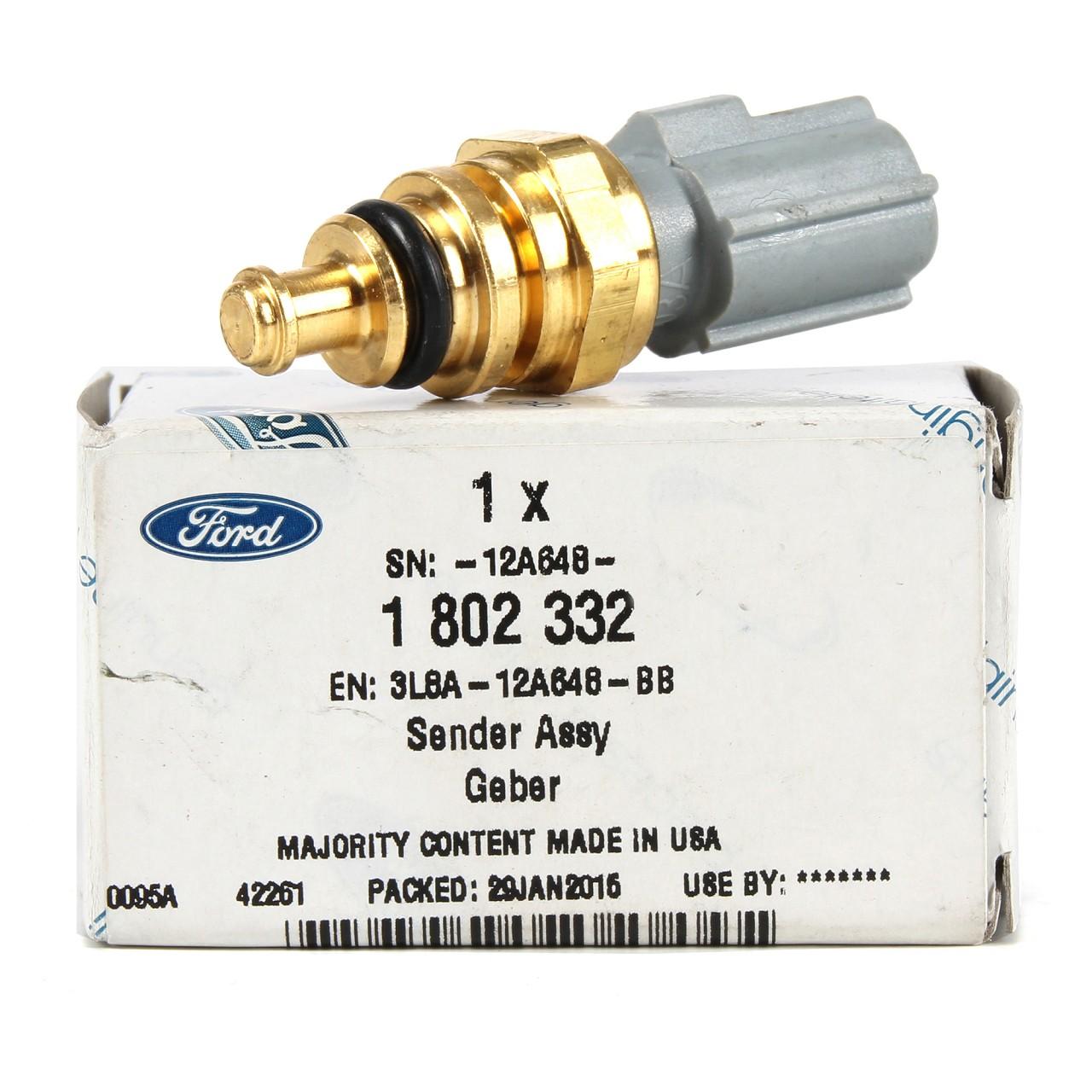 ORIGINAL Ford Temperaturgeber Kühlmitteltemperatur B-MAX C-MAX FIESTA 1802332