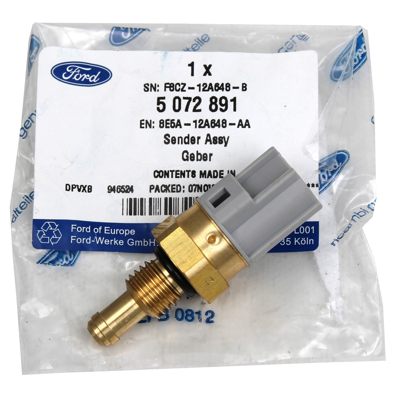 ORIGINAL Ford Temperaturgeber Kühlmitteltemperatur C-MAX ESCORT FIESTA 5072891