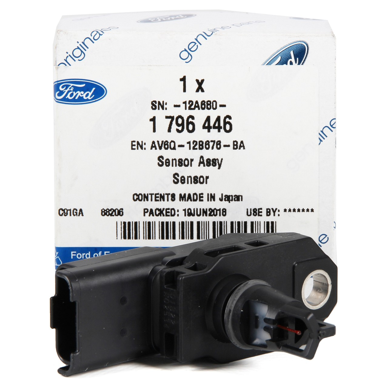 ORIGINAL Ford Unterdrucksensor Saugrohrdruck B-MAX C-MAX FIESTA FOCUS 1796446