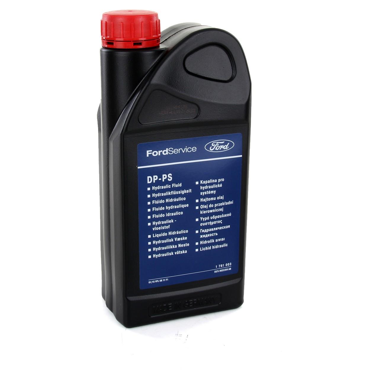 ORIGINAL Ford Hydrauliköl Servo Öl Lenkflüssigkeit DP-PS 1 Liter 1L 1781003