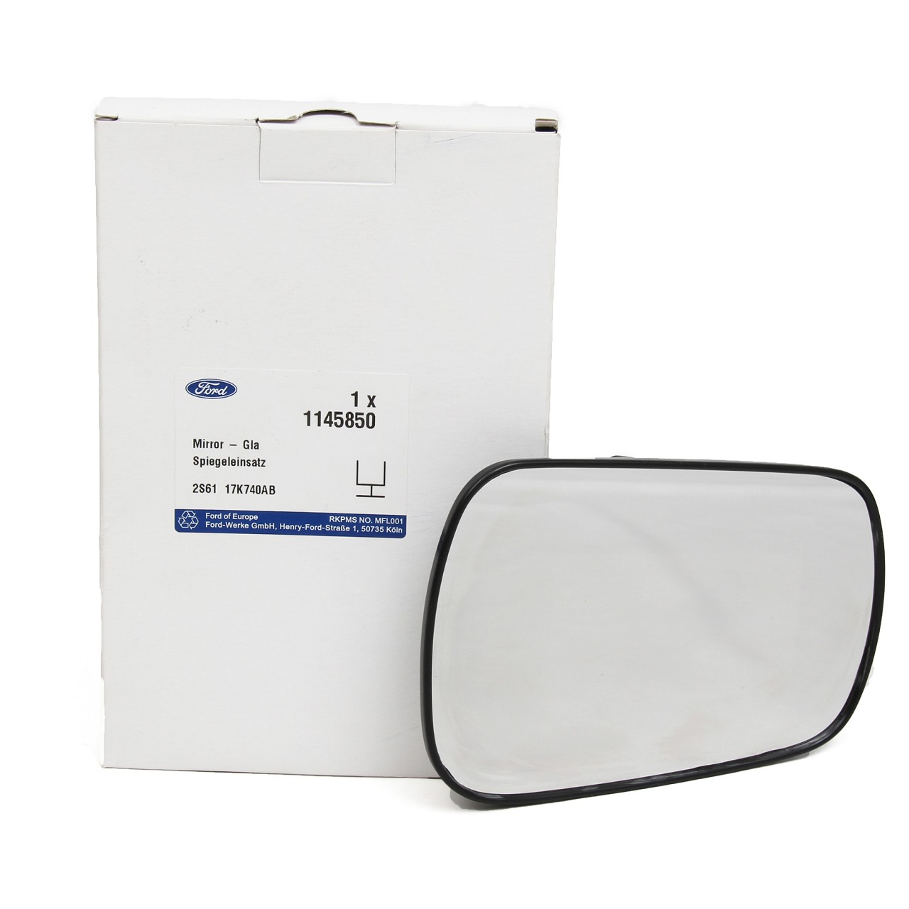 ORIGINAL Ford Außenspiegel Spiegelglas FIESTA V FOCUS II FUSION rechts 1145850