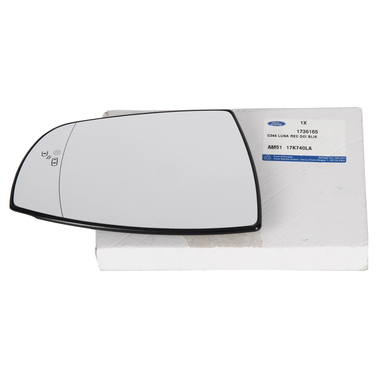 ORIGINAL Ford Außenspiegel Spiegelglas GRAND C-MAX / C-MAX II rechts 1736165