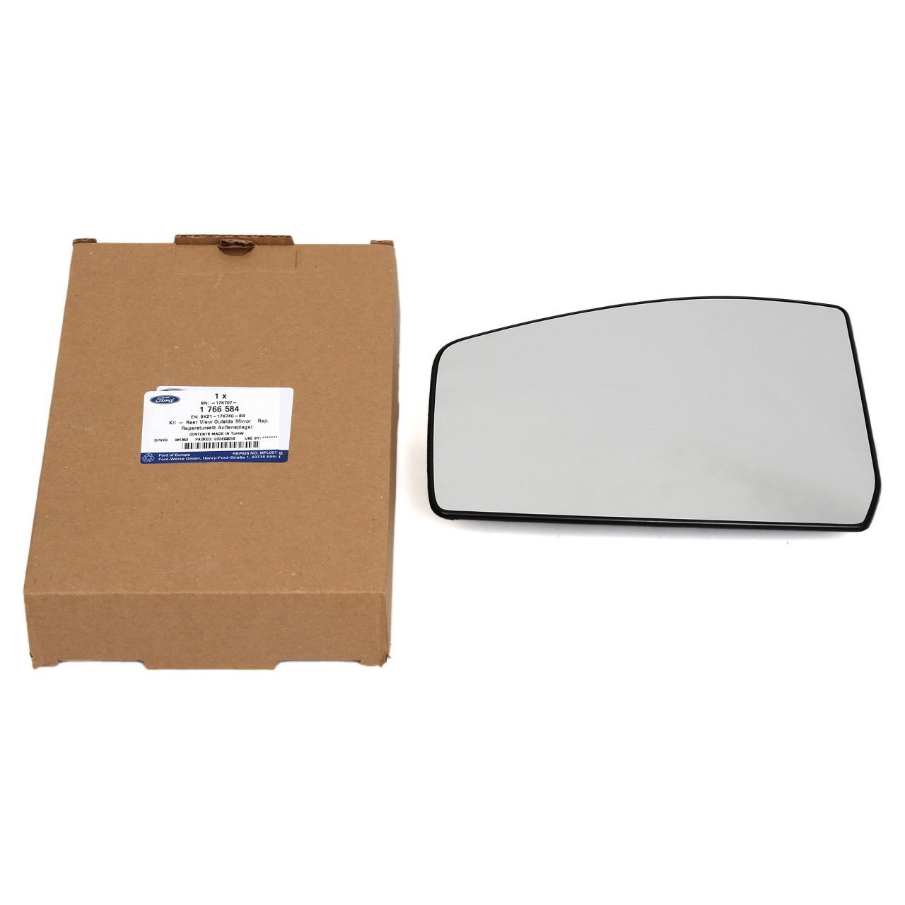 ORIGINAL Ford Außenspiegel Spiegelglas TOURNEO / TRANSIT CUSTOM rechts 1766584