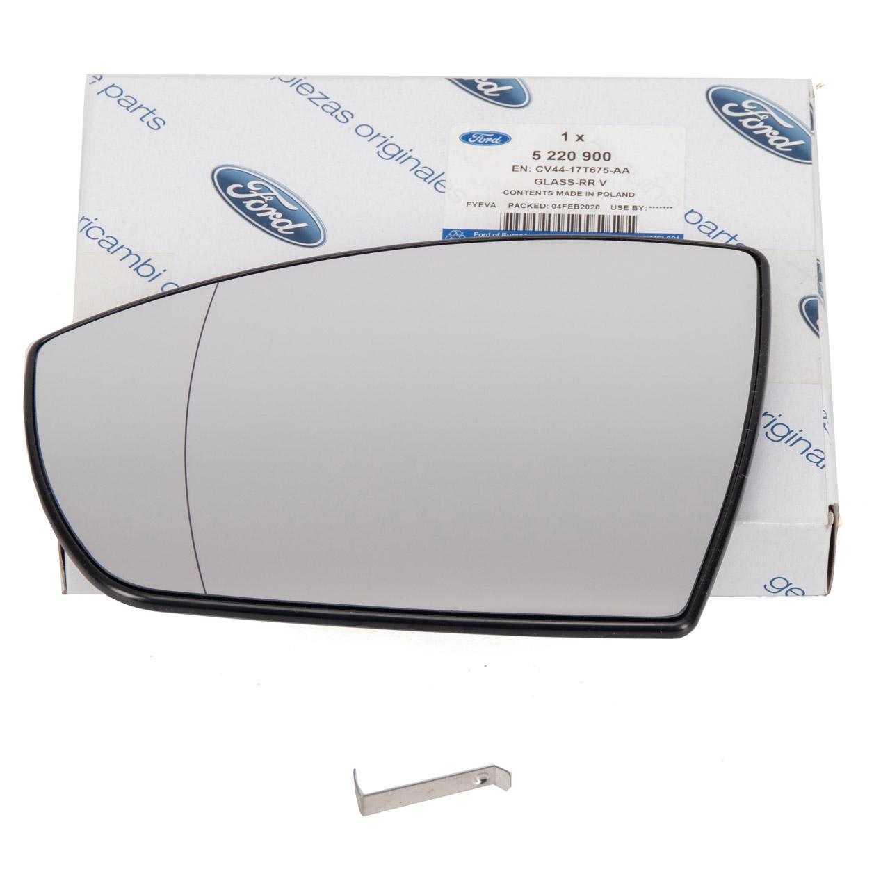 ORIGINAL Ford Außenspiegel Spiegelglas KUGA II MK2 links 5220900