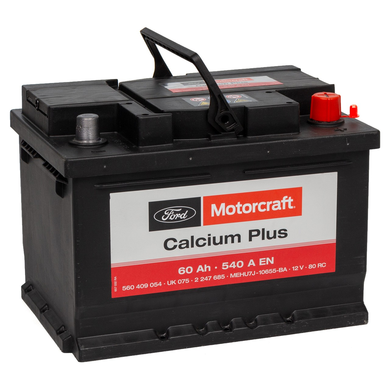 ORIGINAL Ford MOTORCRAFT Autobatterie Starterbatterie 12V 60Ah 2247685