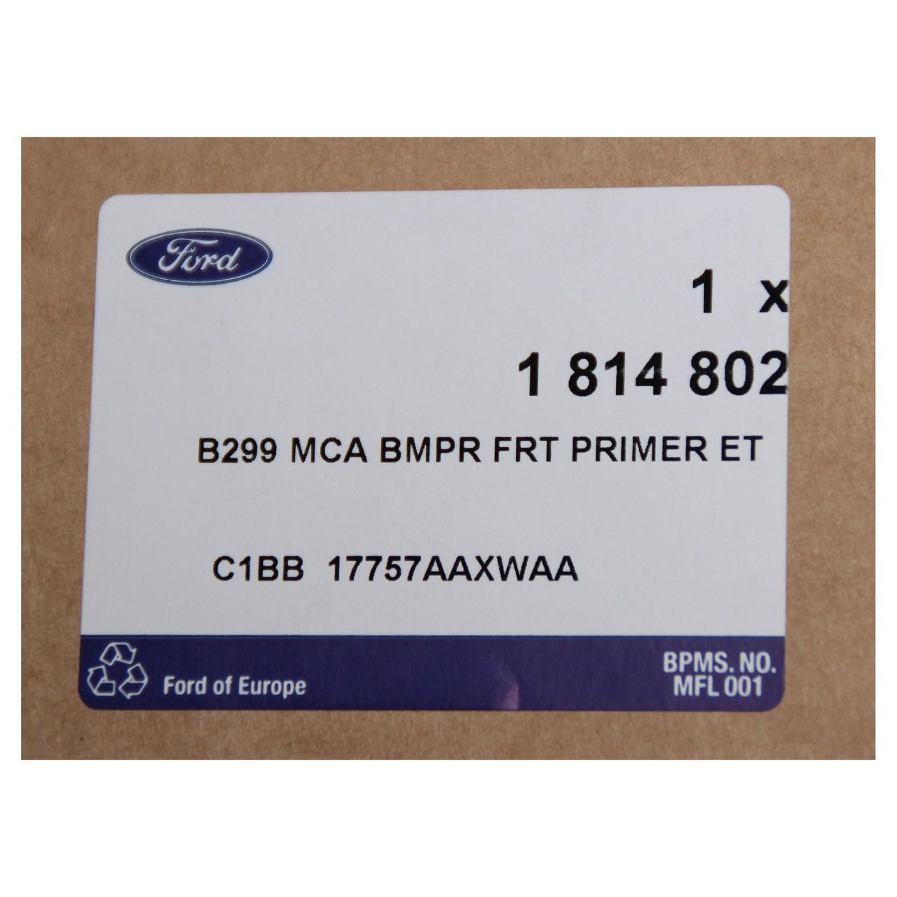 ORIGINAL Ford Stoßstange Stoßfänger FIESTA VI MK6 ab 10.2012 vorne 1814802