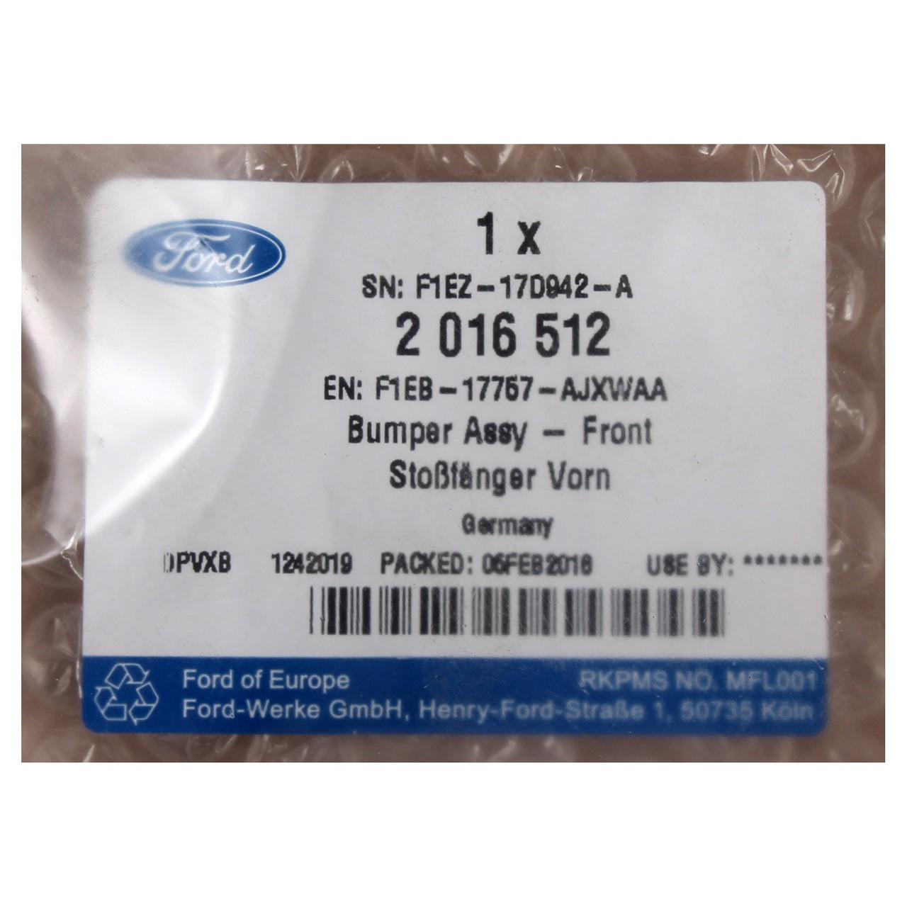 ORIGINAL Ford Stoßstange Stoßfänger VORNE 2016512 für FOCUS III MK3 ab 10.2014