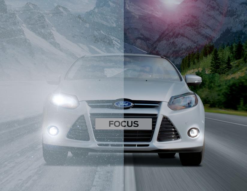 ORIGINAL Ford OSRAM LED Tagfahrlicht Satz 1875877 für FOCUS 3 bis 08.2014