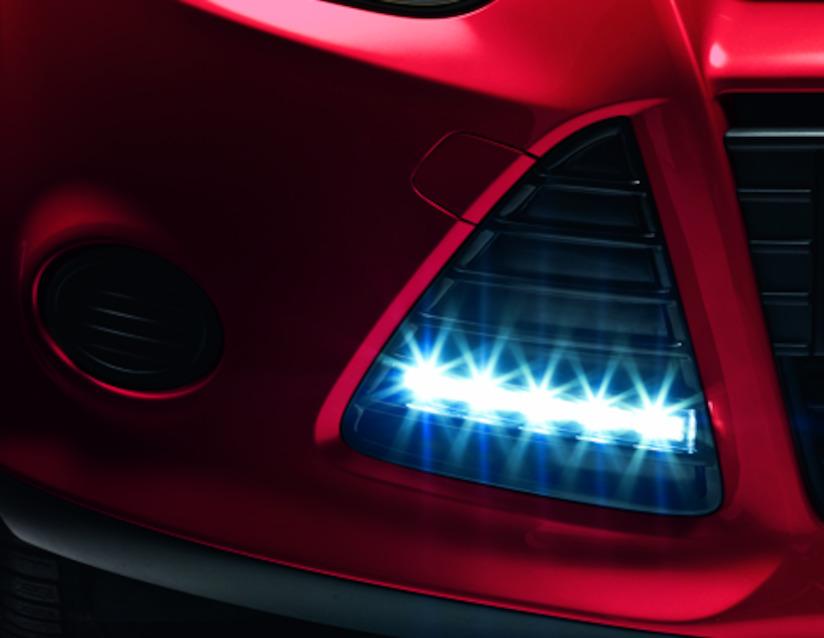 ORIGINAL Ford NOLDEN Tagfahrlicht LED + Einbaurahmen 1746357 FOCUS 3 bis 08.2014