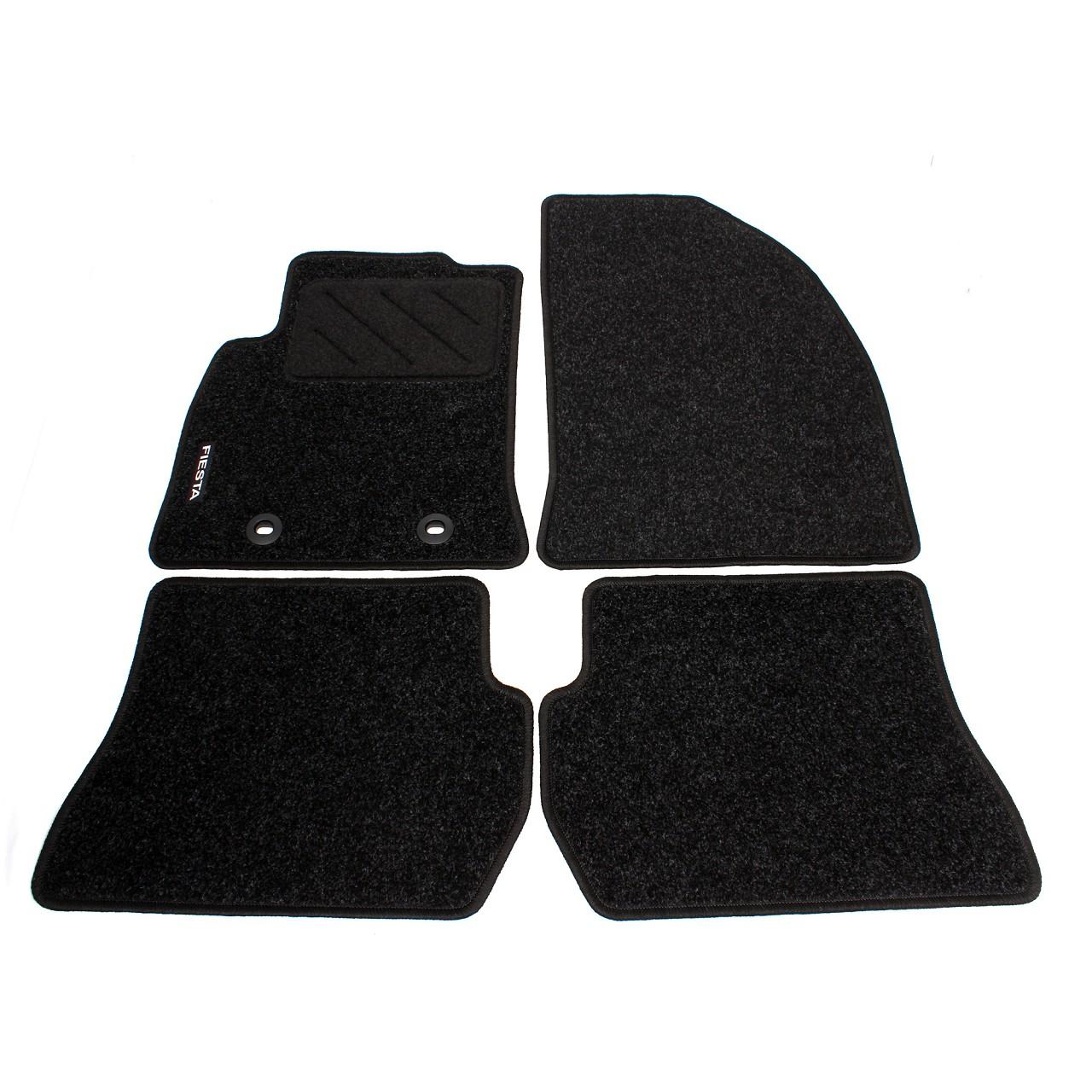 ORIGINAL Ford Textilmatten Fußmatten Automatten Satz 4-tlg Fiesta V MK5 1357803